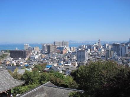 プラウドタワー大津景色② (480x360)