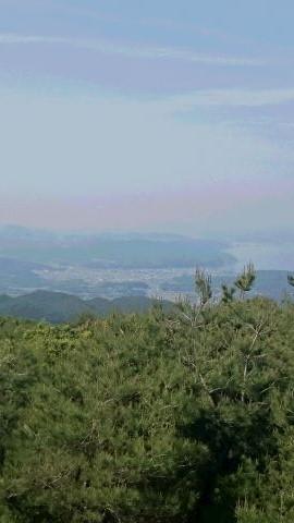 柏原山 景色
