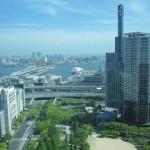 神戸市2016年5月の街並み(神戸市役所展望ロビーより)