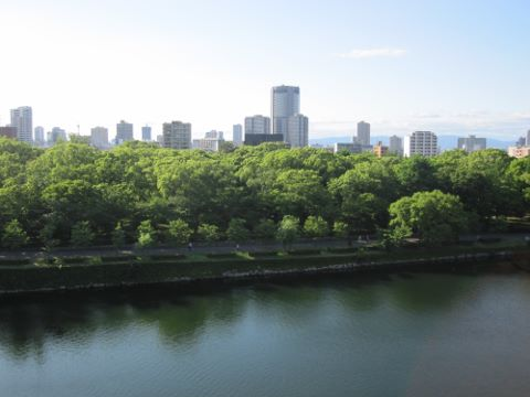 大阪城 眺望
