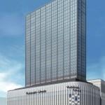 ヨドバシ梅田タワー~大阪駅北側、34階建てホテル