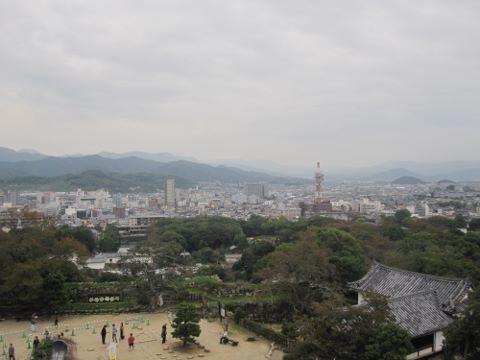 彦根城 景色