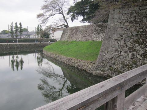 彦根城 堀