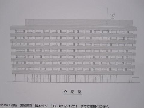 (仮称)大阪北NKビル新築工事 外観 (480x360)